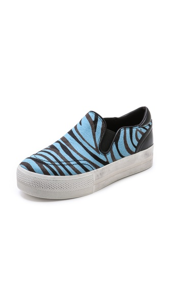 Ash Jungle Slip On Sneakers - Blue at Shopbop / East Dane