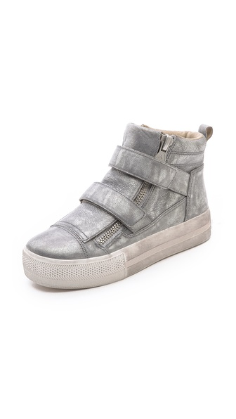Ash Jump Double Strap Sneakers - Stone Silver/Stone Silver at Shopbop / East Dane