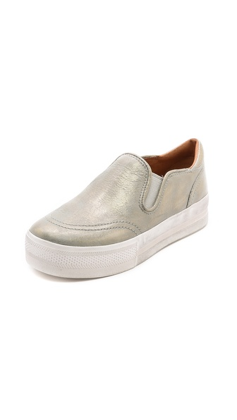 Ash Jungle Slip On Sneakers - Sand/Gold at Shopbop / East Dane
