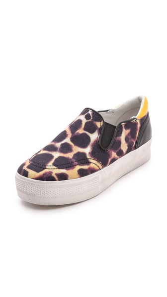 Ash Jungle Bis Slip On Sneakers - Skin/Black/Black/Sun at Shopbop / East Dane