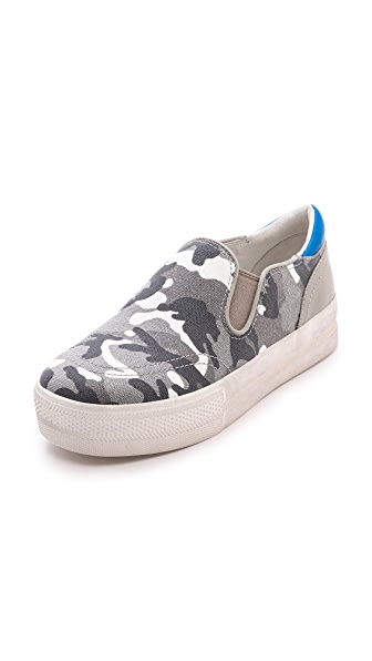 Ash Jungle Bis Slip On Sneakers