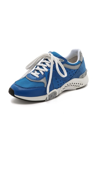 Ash Hendrix Ter Jogging Sneakers - Royal/Royal/Silver at Shopbop / East Dane
