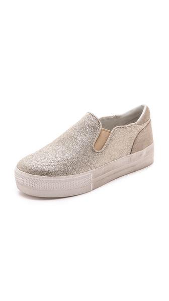 Ash Jungle Glitter Slip On Sneakers