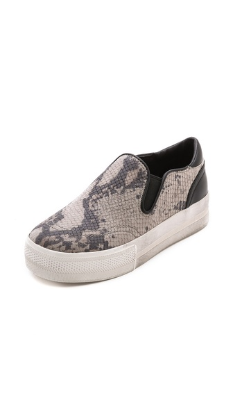 Ash Jungle Printed Slip On Sneakers - Taupe/Black at Shopbop / East Dane