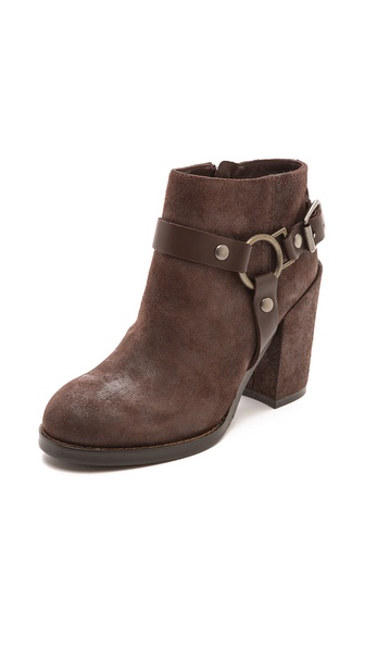 Ash Falcon Buckle Booties