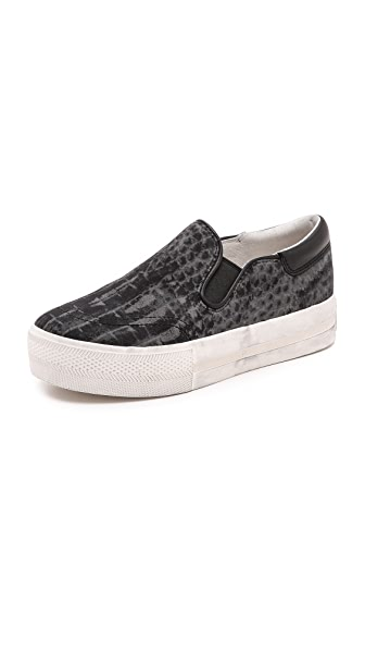 Ash Jam Python Slip On Sneakers