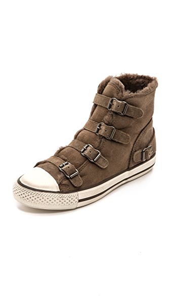 Ash Virgin Shearling Sneakers
