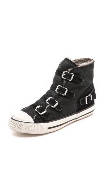 Ash Virginiy Shearling Sneakers