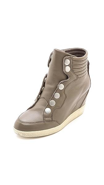 Ash Blade High Top Wedge Sneakers