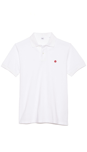 Aspesi Logo Polo Shirt