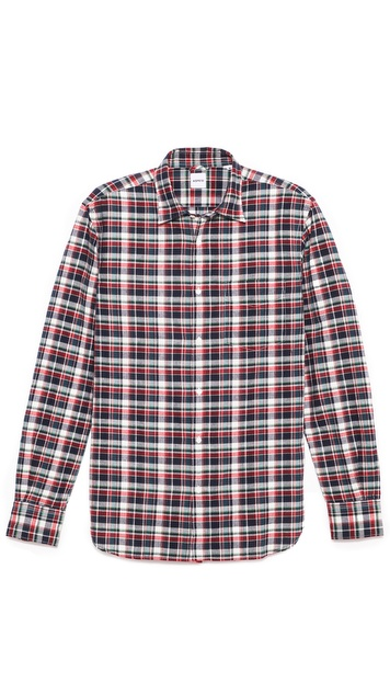 Aspesi Plaid Shirt