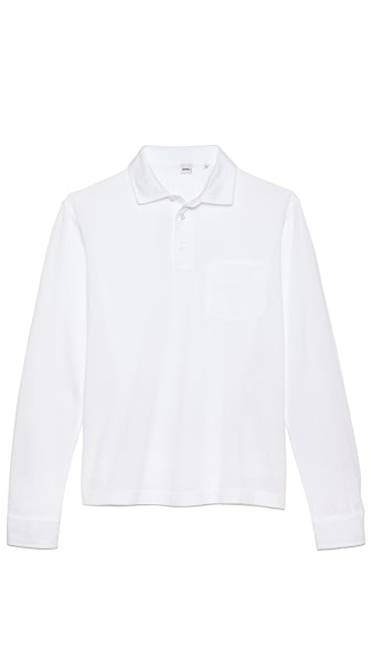 Aspesi Long Sleeve Polo Shirt