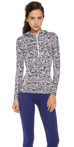 adidas by Stella McCartney Long Sleeve Running Hoodie