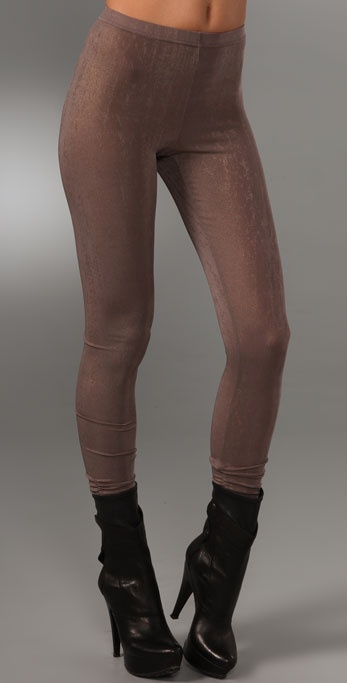 ALICE by Temperley Wonderland Metallic Leggings