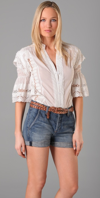 ALICE by Temperley Giselle Shirt