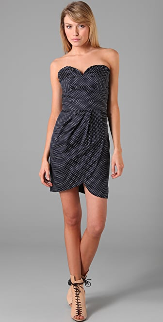 ALICE by Temperley Romaine Polka Dot Dress