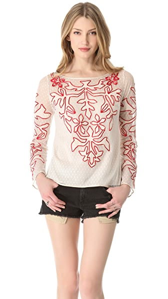 ALICE by Temperley Floria Top