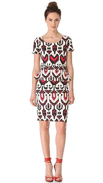 ALICE by Temperley Sovereign Ponte Peplum Dress