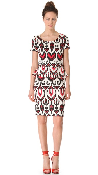 ALICE by Temperley Sovereign Ponte Peplum Dress