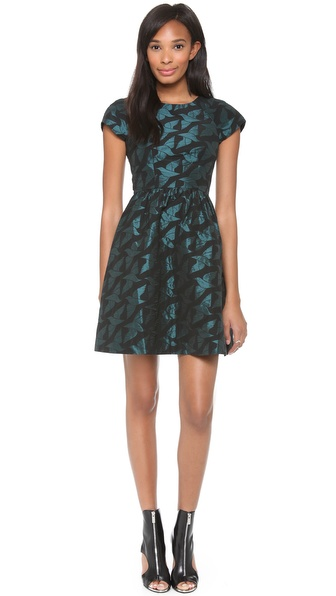 ALICE by Temperley Heron Jacquard Dress