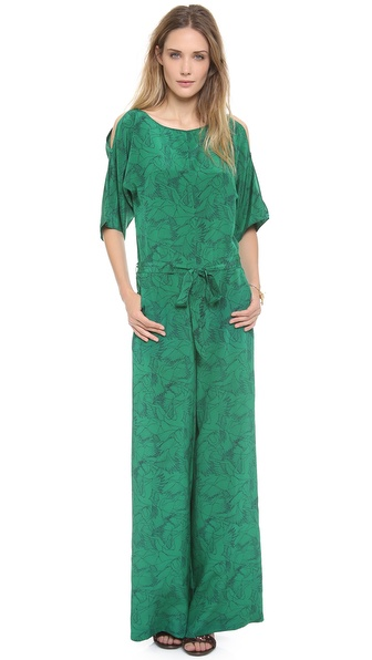 ALICE by Temperley Heron Print Jumpsuit