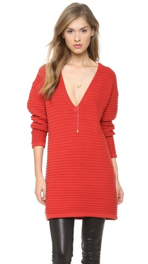 ALICE by Temperley Keiko V Neck Tunic