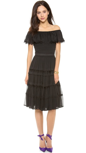 ALICE by Temperley Deity off the Shoulder Dress