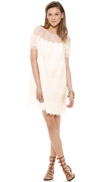 ALICE by Temperley Mini Fox Dress