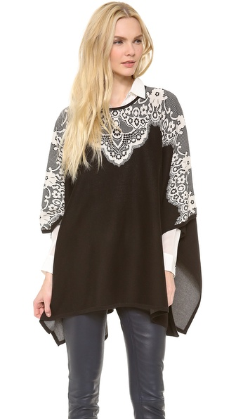 ALICE by Temperley Wisp Poncho
