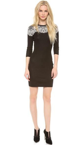 ALICE by Temperley Fitted Wisp Dress
