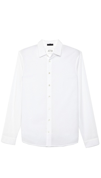 ATM Anthony Thomas Melillo Button Down Shirt