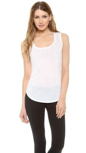 ATM Anthony Thomas Melillo Sweatheart Tank Top