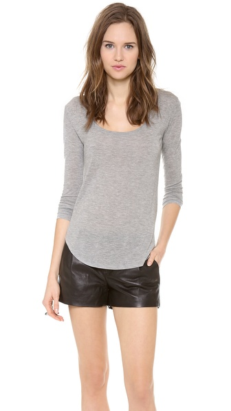 ATM Anthony Thomas Melillo Sweetheart Long Sleeve Tee