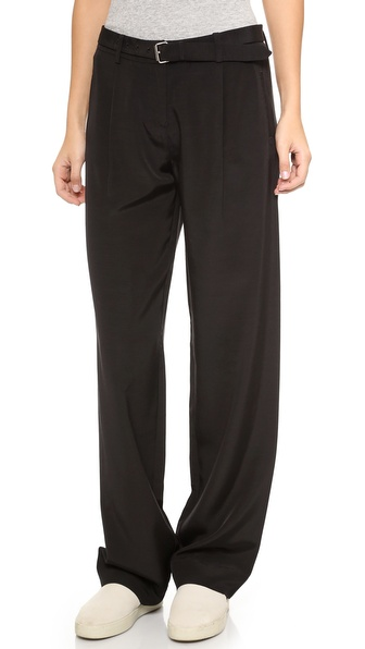 ATM Anthony Thomas Melillo Wide Leg Faille Pants