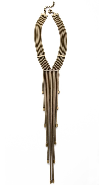 AUDEN Lennox Fringe Necklace