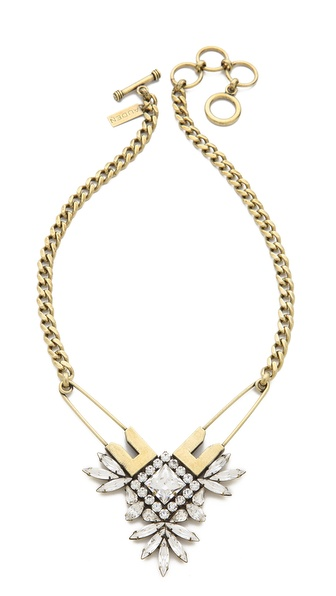 AUDEN Madison Pin Pendant Necklace