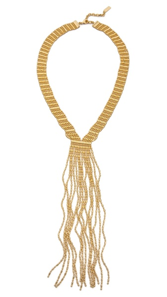 AUDEN Leighton Fringe Necklace