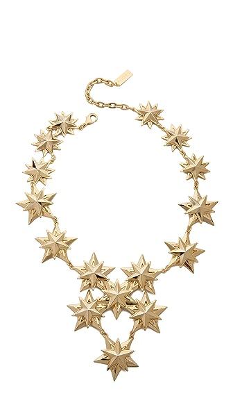 AUDEN Star Bib Necklace