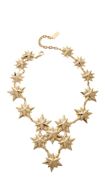 AUDEN Star Bib Necklace