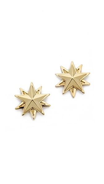 AUDEN Small Star Earrings