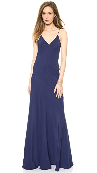Amanda Uprichard Bias Maxi Dress
