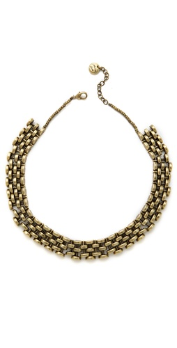 Avant Garde Paris Arco Chain Link Necklace