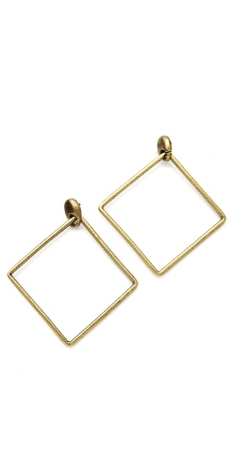 Avant Garde Paris Geometric Drop Earrings