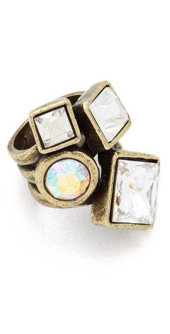 Avant Garde Paris Kristal Ring