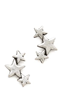 Avant Garde Paris Star Earrings