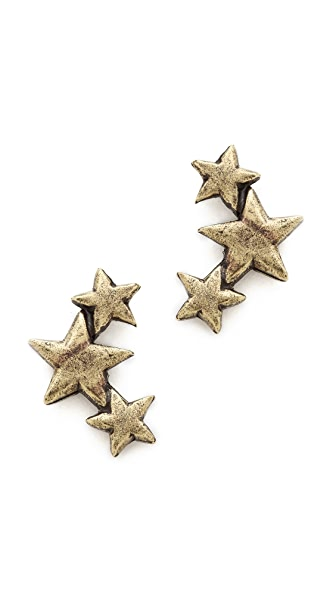 Avant Garde Paris Star Earrings