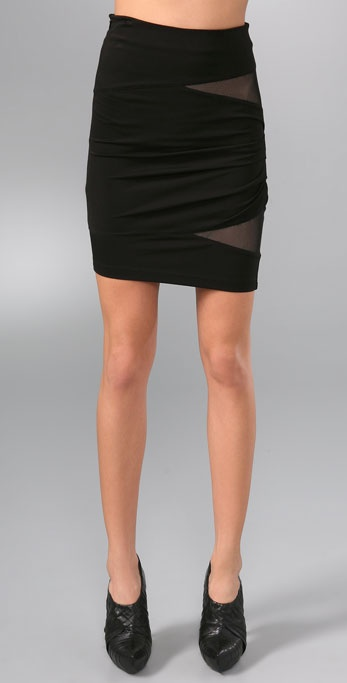 Alexander Wang Fitted Cutout Skirt
