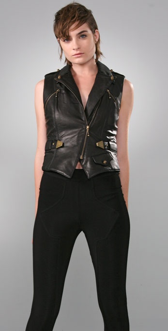 Alexander Wang Leather Vest