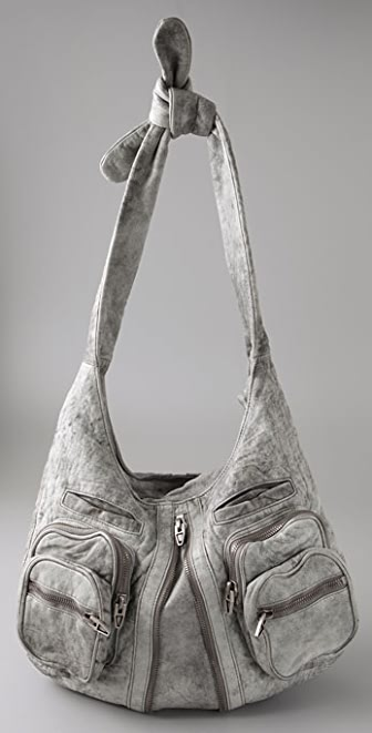 Alexander Wang Antik Denim Leather Donna Hobo
