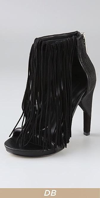 Alexander Wang Dree Fringe Sandals